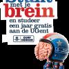In 2010 lokt Stuntbrein nieuwe studenten naar de UGent.