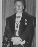 Scheikundig ingenieur (1908-1979) Gaston Goethals specialiseerde zich in de organische chemie en introduceerde in de jaren 1950 de polymeerchemie aan de UGent (privécollectie Eric Goethals).