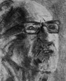 Pentekening van journalist en historicus Leo Picard (1888-1981) door Inge Denayer (privécollectie)