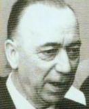Biochemicus Lucien Massart (1908-1988) richtte in 1946 aan de Universiteit Gent het Centrum voor Biochemie op en was van 1965 tot 1977 de eerste rector van het Rijks Universitair Centrum Antwerpen (Collectie Universiteitsbibliotheek).