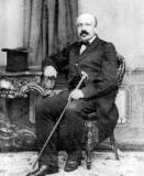 Gustave Callier, hoogleraar aan de faculteit Letteren en Wijsbegeerte (Collectie Universiteitsarchief Gent).