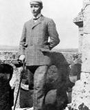 Wetenschapshistoricus George Sarton als student (Collectie Universiteitsarchief Gent).