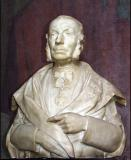 Borstbeeld van ingenieur Emmanuel Boudin. De hoogleraar was het brein achter de 19de eeuwse hervorming van de ingenieursopleiding (Collectie Universiteitsarchief Gent, © UGent - foto Hilde Christiaens).